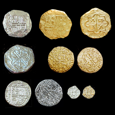 Pirate Coins Replica Doubloons Top Quality Cast Pewter